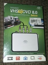 Honestech VHS to DVD 8.0 Deluxe VIDEO AUDIO PHOTO CONVERSION SOLUTION SOFTWARE