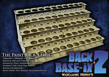 MDF Paint Bottle Rack Modular Organizer for Vallejo Paint 53 Pots