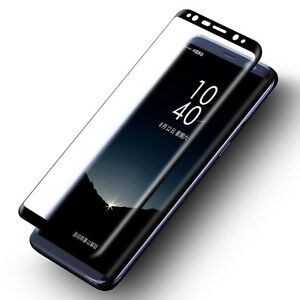 FOR SAMSUNG GALAXY NOTE 8 FULL CURVED CLEAR TEMPER GLASS PHONE SCREEN PROTECTOR