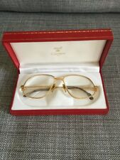 Vintage Cartier Tank Glasses Men's Size 59-16 Made In Paris