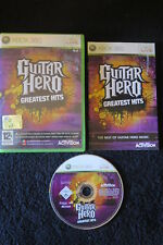 XBOX 360 : GUITAR HERO : GREATEST HITS - Completo, ITA ! Forma una band !