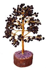 Tourmaline Stone Spiritual Reiki Tree Table Décor Feng Shui Healing Crystal