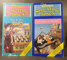 Disneys Sing Along Songs - Song of the South: Zip-A-Dee-Doo-Dah & More (VHS) GD