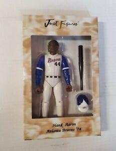 1999 Just Figures HANK AARON Atlanta Braves '74 Rare Bat Helmet HOF Figurine