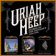 URIAH HEEP - WORDS IN THE DISTANCE (3CD BOXSET)  3 CD NEU