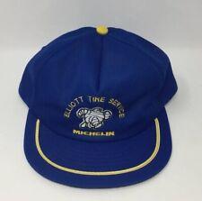 VINTAGE 1980s MICHELIN ELLIOT TIRE SERVICE SWINGSTER MEN'S TRUCKER SNAPBACK HAT!