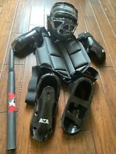 Ata Taekwondo Adult Sparring Gear (used only once) & Bahng Mahng ee (used)