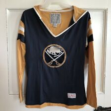 Buffalo Sabres NHL Womens Hoodie Size S Old Time Hockey Newbury Collection Small