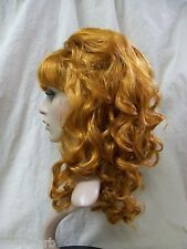 Natural Red Beehive Beauty Wig 60s 70s Housewife Groovy Mod Retro Gal Peg Bundy