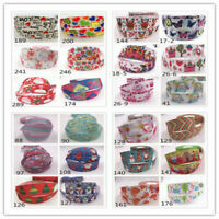 "5Yards 25mm 1"" Cartoon Printed Pattern Ribbon Crafts Christmas Crafts Wholesale!"
