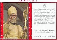 3480 SANTINO HOLY CARD S. MARTINO DI TOURS BASILICA MARTINA FRANCA TA