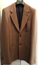 Original Dolce & Gabbana Wolle Männer Jacke Sakko Blazer NP 900€ Neu 56