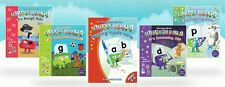 Alphablocks Phonics Bundle 4 Readers and 1 Activity Book (as Seen on Cbeebies)