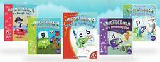 Alphablocks phonics bundle: 4 readers and 1 activity book (as seen on cbeebies)