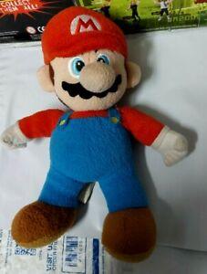 """2010 NINTENDO SUPER MARIO BROS Mario Plush red hat 10"""""""