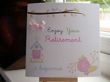 Personalised Female Retirement Card Leaving Work New Job Good Luck