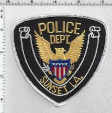 Sunset Police (Louisiana) 1st Issue Shoulder Patch