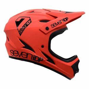 7iDP M1 Full Face BMX/Mountain Bike Helmet Adult Large Red/Black