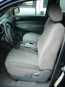 2005 2006 2007 2008 Toyota Tacoma SR5 Front Bucket Exact Seat Covers Gray TWILL