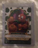 2018 Orange Bird Disney Halloween Sorcerers Magic Kingdom Card MNSSHP Protect