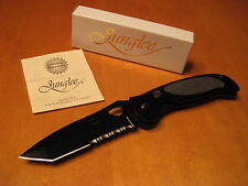 Junglee Gutmann TRI FORCE Tanto EDC Knife ATS-34 Seki Japan Tactical Defense NIB