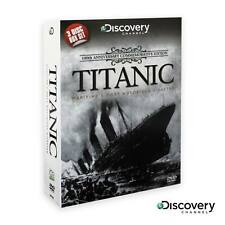 DISCOVERY CHANNEL Titanic DVD 3 Disc Documentary Box Set 100th Anniversary