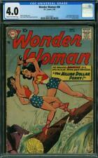 Wonder Woman #98 CGC 4.0 DC 1958 1st Silver Age! New Origin! Key! L12 197 cm