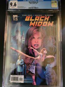 Black Widow #4   Greg Land & Matt Ryan cover   2005 series CGC 9.6 RARE!!!