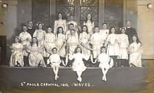 Swindon photo. St Paul's Carnival 1912 by Protheroe & Simons, Swindon. Waves.