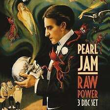 Pearl Jam - Raw Power (2cd+dvd) NEW 3 x CD