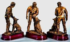 1 Pokal Figur Schäferhund Schutzdienst mit Gravur  (Pokal Pokale Jubiläum SV)