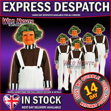 FANCY DRESS COSTUME ~ BOYS/GIRLS FACTORY WORKER COSTUME