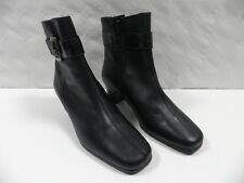 Bottines OMBELLE Jozan noir FEMME taille 36 boots woman cuir leather france NEUF