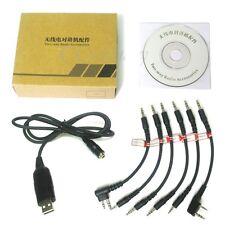 6 in 1 USB Programming Cable for Kenwood Motorola Yaesu ICOM Baofeng TK3207 A081