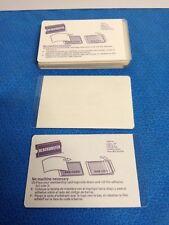 Lot of 21 Blockbuster Membership Card Laminate Sheets No Heat Needed Peel&Stick