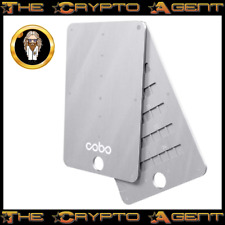 Cobo Tablet PLUS - Stainless Steel - Crypto Seed/Mnemonic Backup