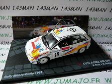 RIT45M coche 1/43 IXO Altaya Rallye OPEL ASTRA GSI 16 V THIRY Monte Carlo 1993