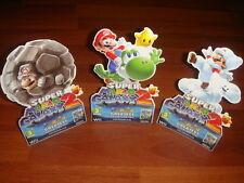 Super Mario Galaxy 2 Mini Store Display New Wii Nintendo Yoshi Rock Cloud Mario