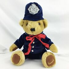 "Collectable 1980's Bear Harrods Knightsbridge Police Bobby indonesia 12"" tall"
