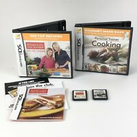 Personal Trainer Cooking & Americas Test Kitchen Nintendo DS 3DS 2 Game Lot