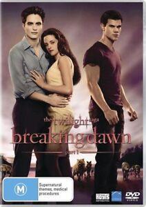 The Twilight Saga Breaking Dawn Part 1 - Movie DVD R NEW SEALED Free Postage