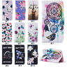 BF Flip Patterned Hybrid PU Leather Wallet Lot Slot Stand Book Case Cover Bumper