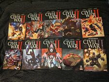 Civil War II #0, 1-8, & FCBD Complete Set, Marvel