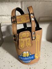 Octoberfest Lederhosen Beer Bottle Can Coolie Cooler Koozie RARE 12oz