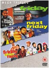 FRIDAY TRILOGY DVD BOX SET ALL 3 MOVIE FILMS Genuine UK Release NEXT AFTER