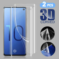 2x 3D Hydrogel Screen Protector TPU Soft Protective Film For Samsung S10/E/S10+