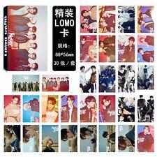 30pcs Lomo Cards GOT7 Never Ever  JACKSON BAMBAM MARK JB KPOP Photocards Poster