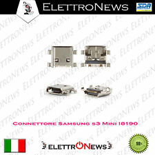 Connettore micro usb Samsung I8190 Galaxy S3 Mini I8200 sostituzione Eur 16 S.E.