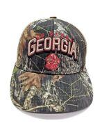 Georgia Bulldogs Go Dawgs Mesh Trucker Snapback Cap Adjustable Hat