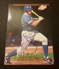 Ryan Jones Blue Jays 1996 Fleer Excel #115 Authentic Signed Autograph M15